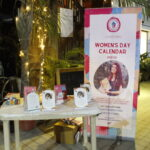 Our Stall in Hauz Khas Village on the day of the Launch